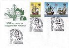 № 46-48 FDC1 - 500th Anniversary of the Discovery of America by Christopher Columbus 1992