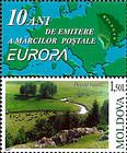 № 465Zf - 10th Anniversary of the Moldovan «Europa» Stamps 2003