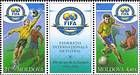 № 492-493Zd - 100th Anniversary of the Fédération Internationale de Football Association (FIFA) 2004