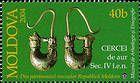 Gold Earrings (IV cent. BC). Discovered in Balabani, Taraclia