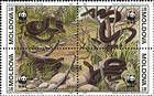 № 50-53Zd - Endangered Snake Species - World Wide Fund for Nature (WWF) 1993