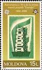 The First «EUROPA» Stamp Design. Issued in 1956