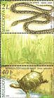 № 531+528Zd - From The Red Book of the Republic of Moldova: Fauna - Reptiles and Amphibians 2005
