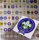 № 582-583 MH - EUROPA 2007 - 100 Years of Scouting 2007