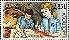 Scouts Studying Archaeology