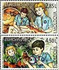 № 582+583ZdV - EUROPA 2007 - 100 Years of Scouting 2007
