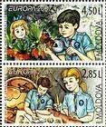 № 583+582ZdV - EUROPA 2007 - 100 Years of Scouting 2007
