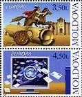 № 611+612ZdV - EUROPA 2008 - Letter Writing 2008