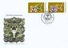 № 613-614 FDC - 150th Anniversary of the «Cap de Bour» Stamps of the Moldavian Principality 2008
