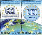 № 636-637Zd - Moldovan Presidency of the Central European Initiative (CEI) 2008
