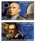 № 650B+651BZdV - EUROPA 2009 - Astronomy 2009