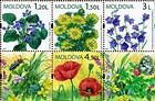 № 655-658Zd2 - Wild Flowers of Moldova 2009