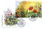№ Block 46 (658) FDC - Wild Flowers of Moldova 2009