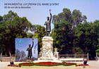 № 666 MC4 - Statue of Stefan cel Mare in Chişinău