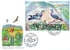 № Block 50 (702) FDC - Birds Flying Over the Countryside