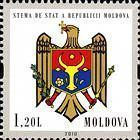 № 717Ss (1.20 Lei) State Arms of Moldova