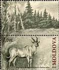 № 723Zf - Extinct Fauna of Moldova 2010