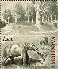 № 724Zf - Extinct Fauna of Moldova 2010