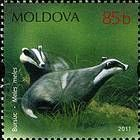 № 759 (0.85 Lei) European Badger (Meles meles)