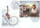 № Block 61 (788) FDC1 - 70th Birth Anniversary of Mihai Dolgan 2012