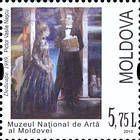 № 821 (5.75 Lei) «Dedicaţie» (1989) by Vasile Naşcu. National Museum of Art of Moldova