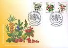 № 824-827 FDC - Fruiting Shrubs 2013