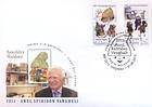 № 834-835 FDC1 - 2013 - Year of Spiridon Vangheli 2013