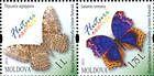 № 838+840ZdH - Butterflies and Moths (III) 2013