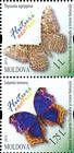 № 838+840ZdV - Butterflies and Moths (III) 2013