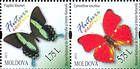 № 839+841ZdH - Butterflies and Moths (III) 2013