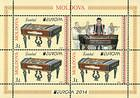 № 863 Hb - EUROPA 2014 - National Musical Instruments 2014