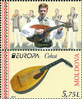 № 864 ZfV - EUROPA 2014 - National Musical Instruments 2014