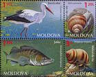№ 883-887 Zd - Fauna of Moldova 2014