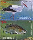 № 884-885 Zd - Fauna of Moldova 2014
