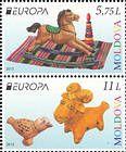 № 904-905ZdV - EUROPA 2015: Old Toys 2015