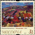«Evening in the Field» by Eleonora Romanescu (1967)