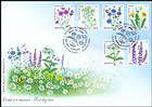 № 951-956 FDC1 - Flora: Wild Flowers 2016