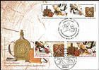 № 974-975 FDC3 - Folk Crafts: Wood Carving (Joint Issue with Belarus) 2016