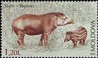 № 980 (1.20 Lei) Tapir (Tapirus)