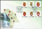 № 991-996 FDC1 - Local Coats of Arms II - Definitive Stamps 2017