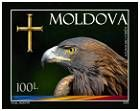 Allegory of the State Symbols of Moldova (Eagle, Cross and Flag)