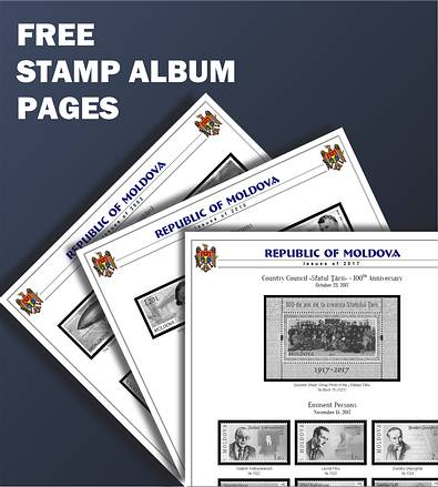 Free Stamp Album Pages for all Registered Members of IMPS