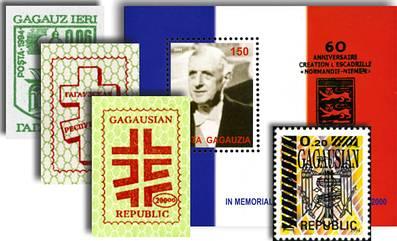 Gagauzia Bogus Stamps