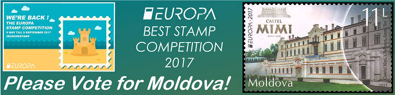 EUROPA Stamp Competition 2017 - Vote for Moldova