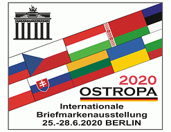 OSTROPA 2020 European Stamp Exhibition, Berlin